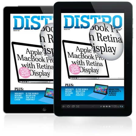 Distro 46: Retina MacBook Pro, Microsoft-Events und Minority Report