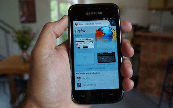 Hands-On: Firefox for Android (Videos)