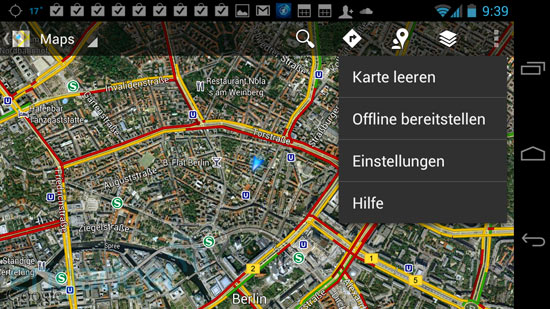 GoogleMaps im Offline-Modus (Hands-On)