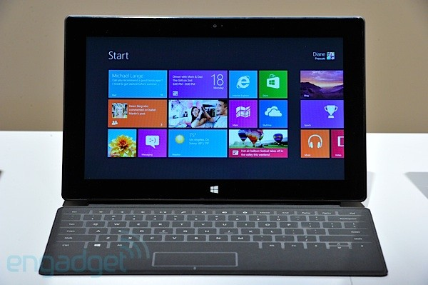 Hands-On: Microsoft Surface RT (Video)