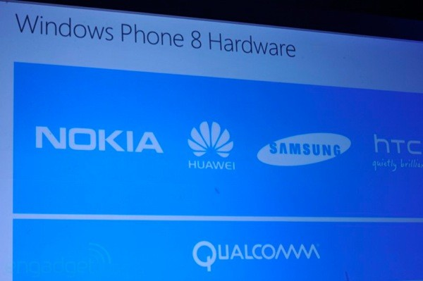 Windows Phone 8: Das sind die Hardware-Partner