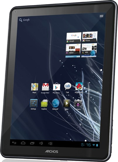 "Archos 97 carbon: Neues 9,7""-Tablet mit Ice Cream Sandwich"