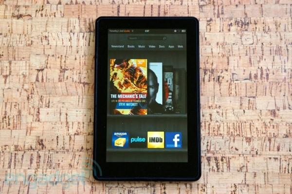 China Times: Neuer Amazon Kindle Fire spätestens im August