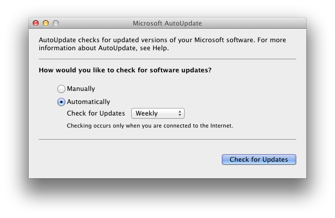 Update: Microsoft bringt Office for Mac 2011 für Mountain Lion
