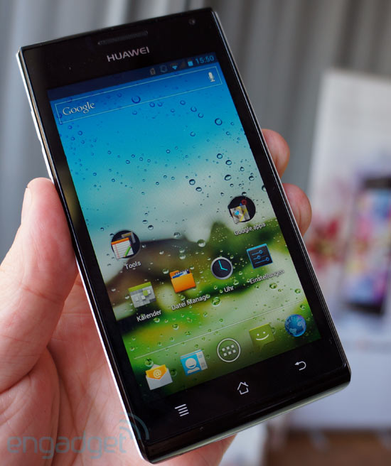 Review: Huawei Ascend P1