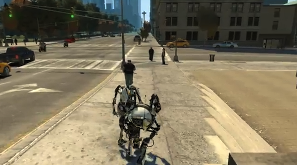 Mashup: Portal 2 / GTA4-Mod (Video)