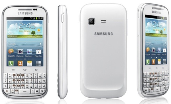 Samsung Galaxy Chat: Nature UX-Layer, ICS und QWERTY-Keyboard