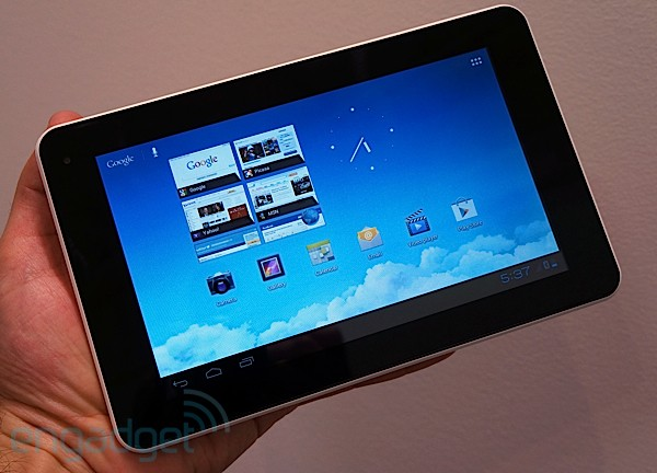 IFA 2012: Huawei Mediapad 7 Lite Hands-On