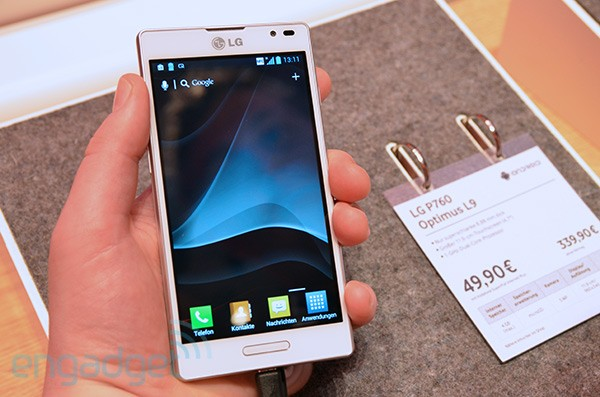 IFA 2012: LG Optimus L9 Hands-On