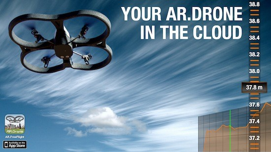 Parrot startet die AR.Drone Academy, wir fliegen in die Cloud (Video)