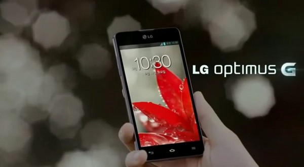 LG Optimus G zeigt sich auf YouTube (Video)