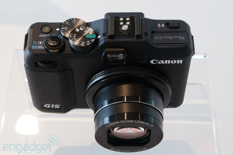 Hands On: Canon Powershot G15