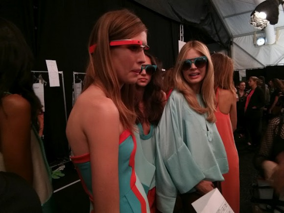 Augmented Catwalk: Google Glass bei Diane von Fürstenberg auf der New Yorker Fashion Week