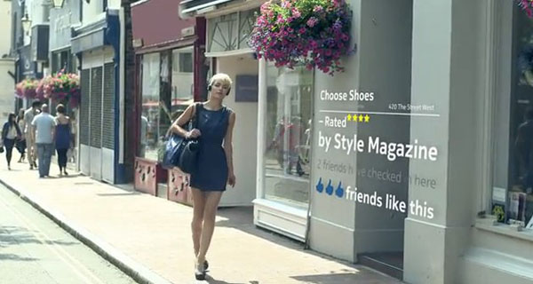 Nokia-Teaser für morgen: Window-Shopping, AR-gestützt (Video)