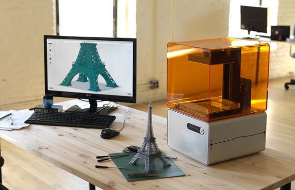 3D-Drucker Form 1 sammelt 1,4 Millionen Dollar bei Kickstarter ein (Video)