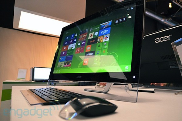 Hands-On: Acer Aspire 5600U und 7600U mit Touchscreen und Windows 8 (Video)