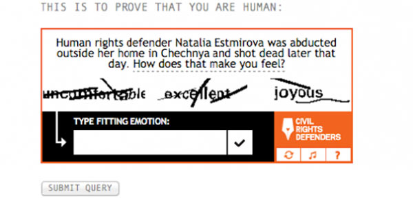 Civil Rights Captcha: Multiple-Choice-Empathie gegen Spam