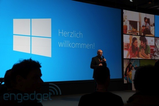 Hallo, Windows 8