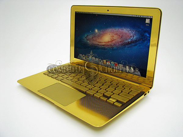 Computer Choppers vergolden MacBook Air, ab 5780 Euro seid ihr dabei