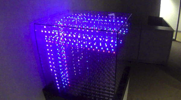 DIY: Disco-Würfel aus 4096 LEDs (Video)