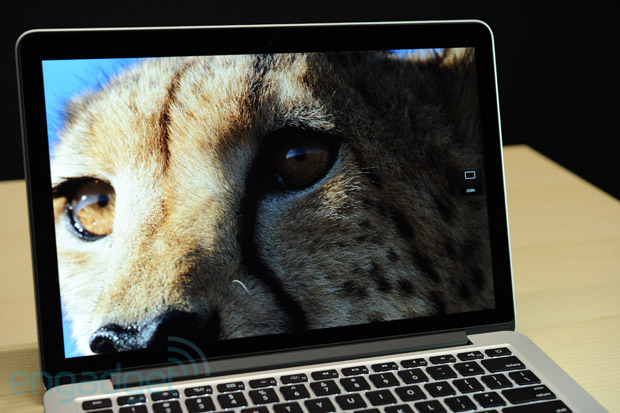 "13"" MacBook Pro mit Retina Display: Hands-On"