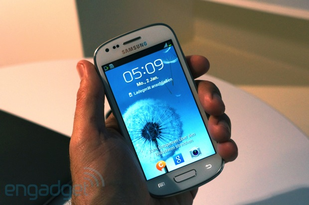 Samsung Galaxy S III mini: offiziell am Start (Hands-On) UPDATE: Video