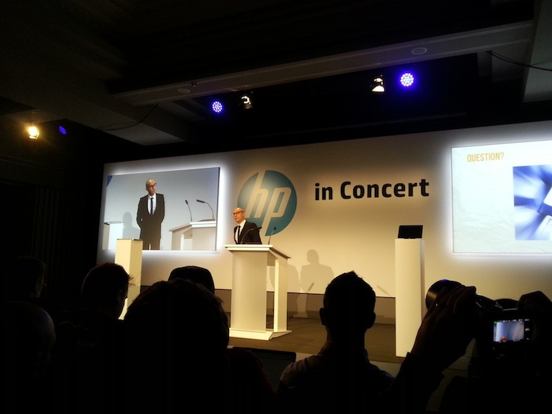HP Connected Music in Kooperation mit Universal Music in Paris vorgestellt