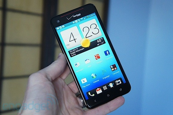 Engadget-US testet das HTC Droid DNA (Video)