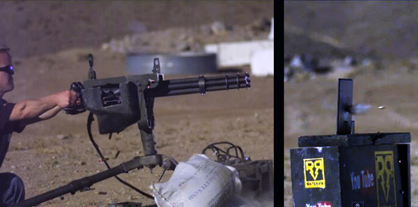 Video: Minigun löchert iPad mini, minimal sinnige Minischadenfreude garantiert