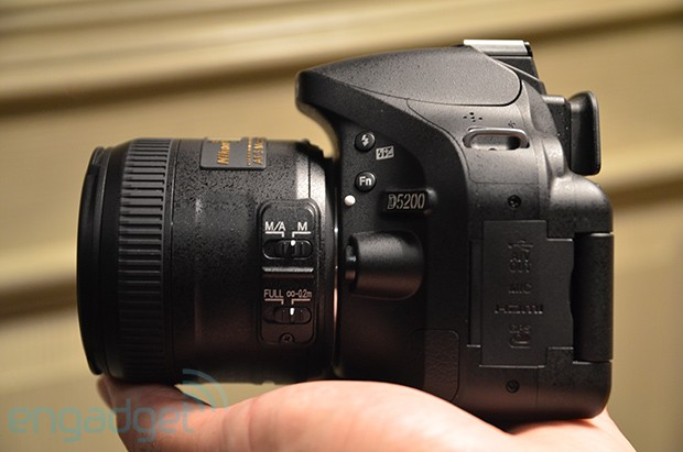 Nikon D5200: 24 Megapixel, 39-Punkt-Autofokus und Wireless-Option (Video)