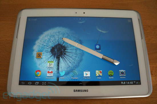 Geht los: Das Samsung Galaxy Note 10.1 bekommt Android 4.1 Jelly Bean