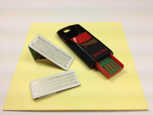 Intellipaper: USB-Sticks aus Papier (Video)