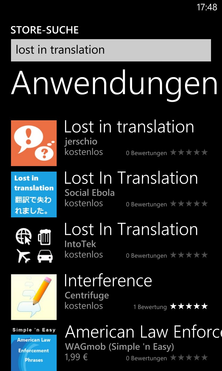 Lost in Translation: Auf der Suche nach der Windows Phone 8 Killer-App Bing Translator