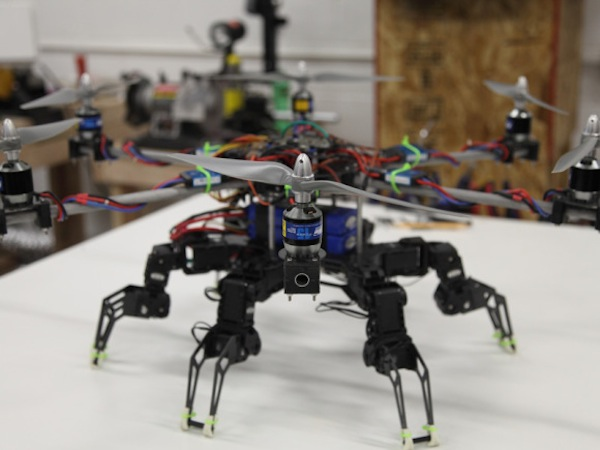 DIY: Hexapod Hexacopter (Video)