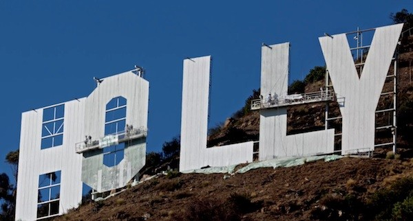 Timelapse-Kosmetik: The Hollywood Sign bekommt Facelift