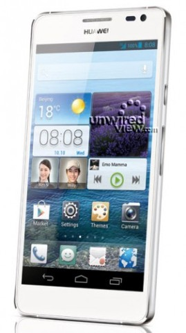 "CES 2013: Huawei zeigt Ascend D2, 5""-Smartphone mit 1080p-Display"