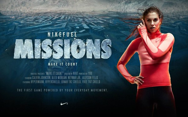 NikeFuel Missions macht Trainingspunkte zur Game-Währung (Video)