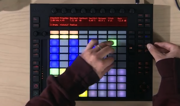 Sneak Preview: Ableton zeigt neues Video zum Performance-Controller Push (Video)