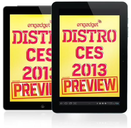 Engadget-Magazin Distro: CES 2013-Preview