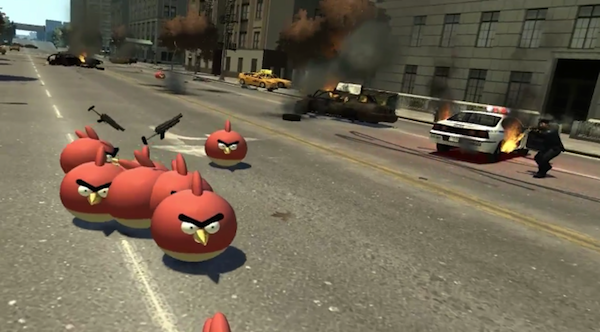 GTA IV-Mods: Angry Birds und Iron Man verbreiten Schrecken in New York (Videos)