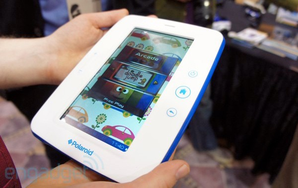 Polaroid Kids Tablet: Gummierung, Android und Alterskontrolle für 150 Dollar (Video)