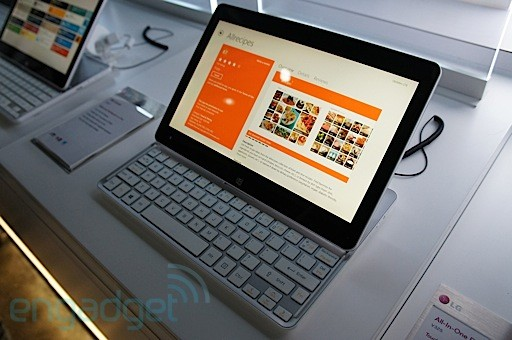 LG Tab-Book Ultra Z160 & H160 Windows 8 Slider