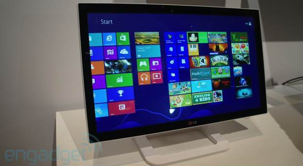"Eyes-On: LGs ET83 ist ein 23""-Monitor für Windows 8"