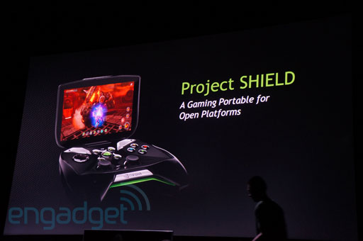 CES: NVIDIA zeigt Project Shield, eine neuen Gaming Controller (Video)
