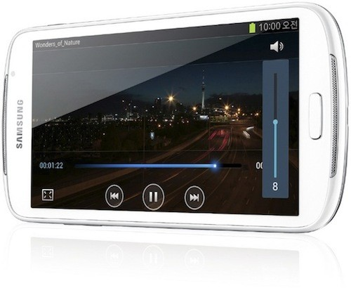 Media Player wird zum Smartphone: Samsung Galaxy Fonblet 5.8