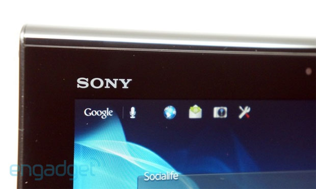 neues sony tablet xperia z kommt mit 1080p display engadget deutschland. Black Bedroom Furniture Sets. Home Design Ideas