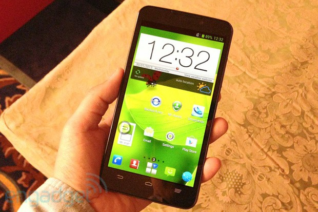 ZTE teast Grand Memo an: 5,7-Zoll Display, 1,7 GHz Quadcore S4 Pro