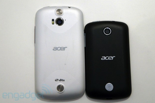 Acer Liquid E & Liquid Z2 Hands-On (Video)