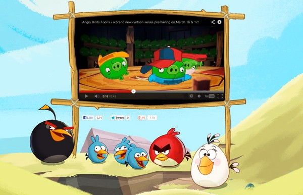 Trailer: Angry Birds Cartoon Series kommt ins Netz, schwerer Kinder-TV-Alarm