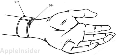 Patentantrag: Apple will iOS am Handgelenk mit flexiblem Touchscreen